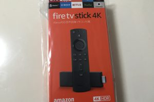 Fire tv Stick 4Kパッケージ